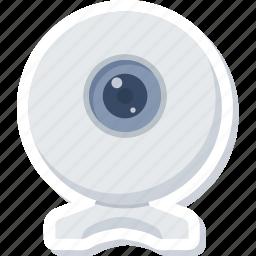 camera, media, video, web icon