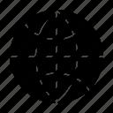 communication, connection, globe, web, www icon
