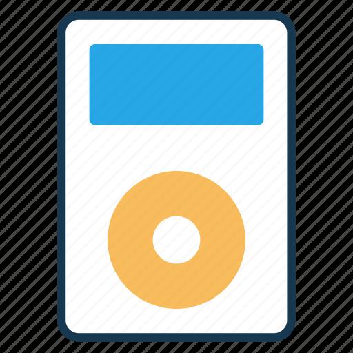 audio player, entertainment, ipod, multimedia, music player icon