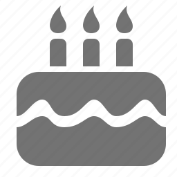 birthday, cake, celebration, event icon