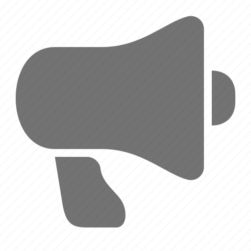 announcement, broadcast, communication, marketing, megaphone icon