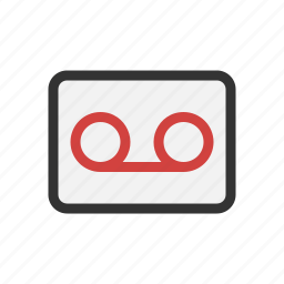 mail, recorder, voice icon