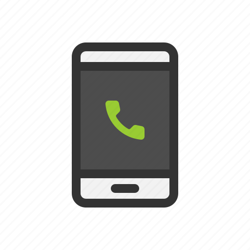 call, dial, phone, smart, up icon
