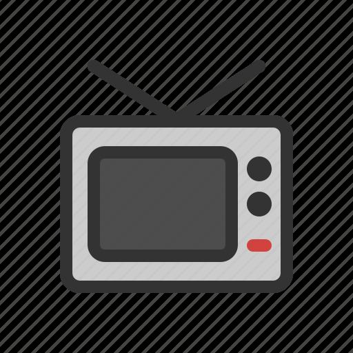 media, publication, television, tv icon