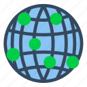business, communication, globe, information, net, technology, world icon