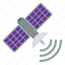 antenna, business, communication, information, satellite, space, technology icon