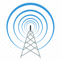 atenna, business, communication, information, radio, technology, wave icon