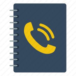 book, business, communication, contact, information, phone, technology icon