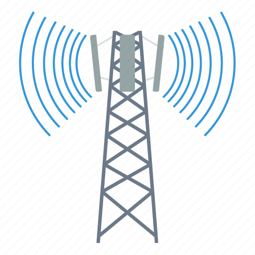antenna, business, cell, communication, information, radio, technology icon