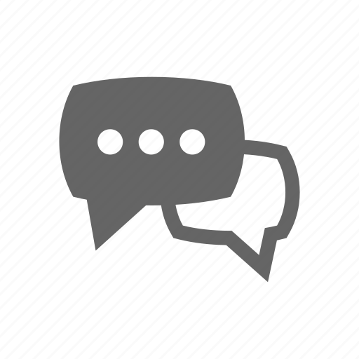 bubble, discussion, media, messaging, speech, talking icon