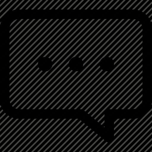chat, chatting, communication, conversation, message, writing icon