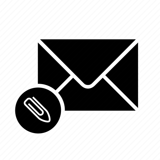 archive, attach, attached, attachment, mail, mailing, message icon