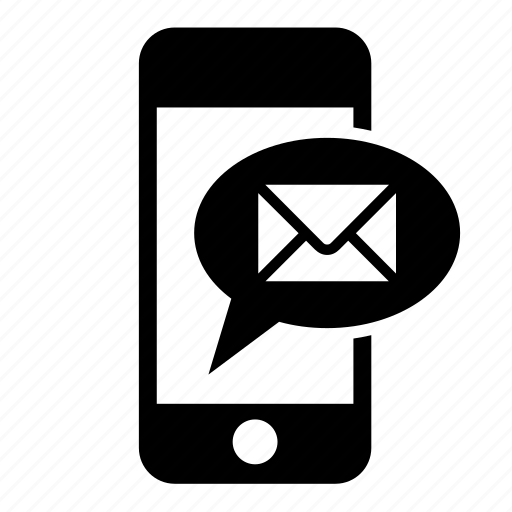 communication, mail, message, messaging, mobile, phone, telephone icon