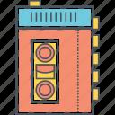 casette, casette player icon