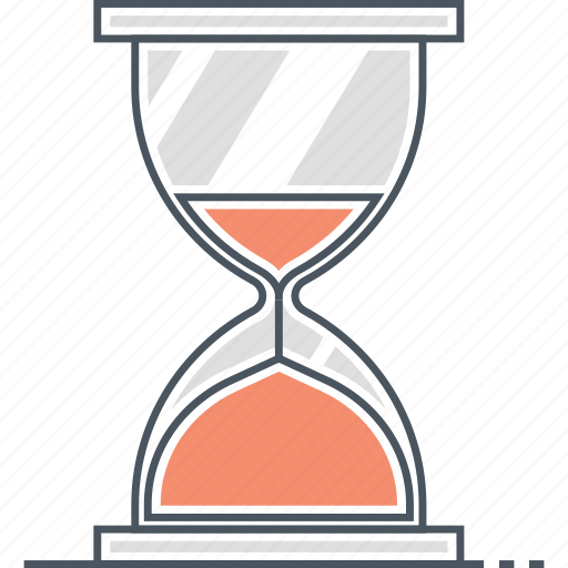 deadline, hourglass, sand clock, time, timer icon