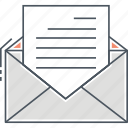 email, letter icon