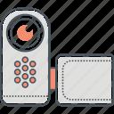 handycam, recorder, camera, video recording