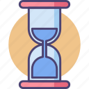countdown, deadline, hourglass, sand timer, sandclock, time, timer icon
