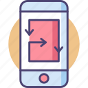 mobile, mobile app, mobile solutions, smartphone, solutions icon