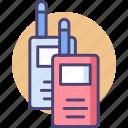 communication, radio, talkie, transceiver, walkie, walkie talkie icon