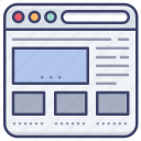website, browser, internet, explorer icon