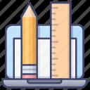 create, edit, tools, draw icon