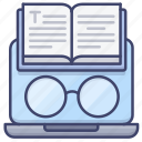 book, online, education, read icon