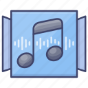 music, album, player, playlist icon
