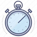 stopwatch, time, counting, timer