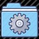 preferences, settings, folder, system