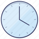 process, timer, time, clock icon