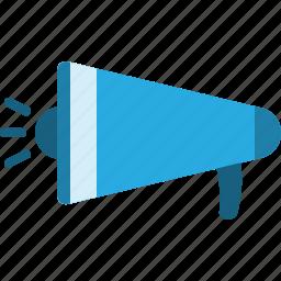 announce, communication, media, megaphone, news, speaker, voice icon