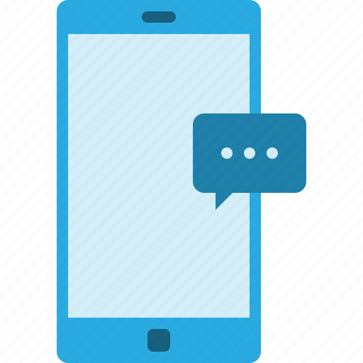 chat, communication, media, message, mobile, phone, smartphone icon