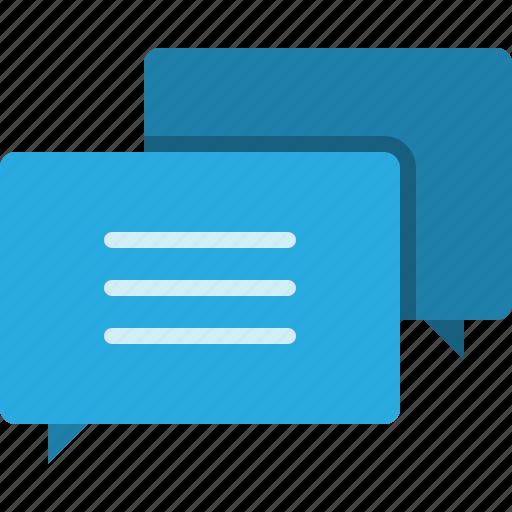 chat, communication, media, message, social, speech, talk icon