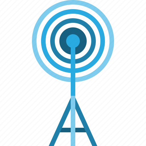 antenna, bradcast, communication, media, signal, technology, telecoms icon