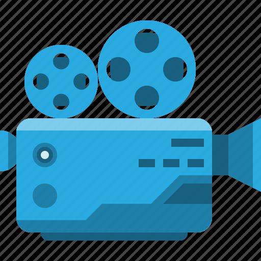 camera, communication, electronic, entertain, media, motion, movie icon