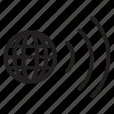 world, signal, interface, technology icon