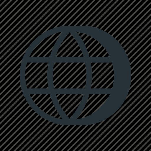 connection, globe, internet, network, web, www icon