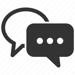 chat, customer support, speech bubbles, talk icon