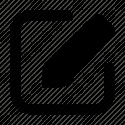 document, edit, paper, pen, pencil, text, write icon