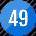 number, numero, 45