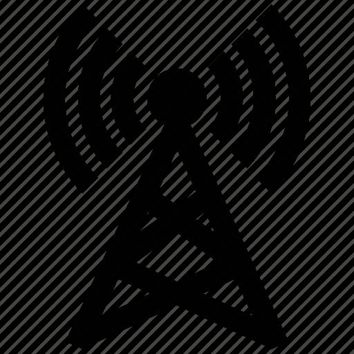 internet, internet tower, network, signals, wifi antenna, wireless icon