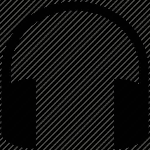 audio, earphone, headphone, headset icon
