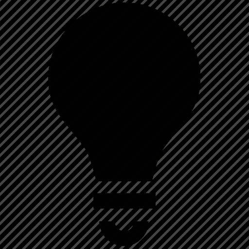 bright, bulb, idea, lamp, light, lightbulb icon