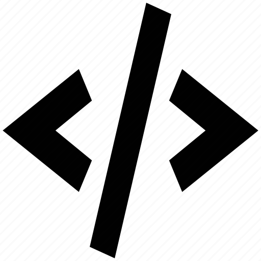 codes, css, html, web programming icon
