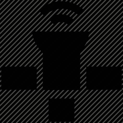 antenna, booster, dish, satellite icon