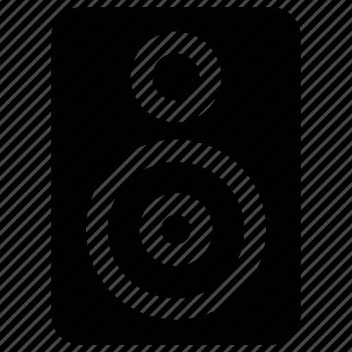 audio, loud, speaker, woofer icon