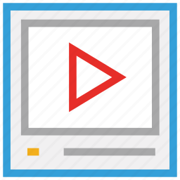 audio player, movie, video, video player icon