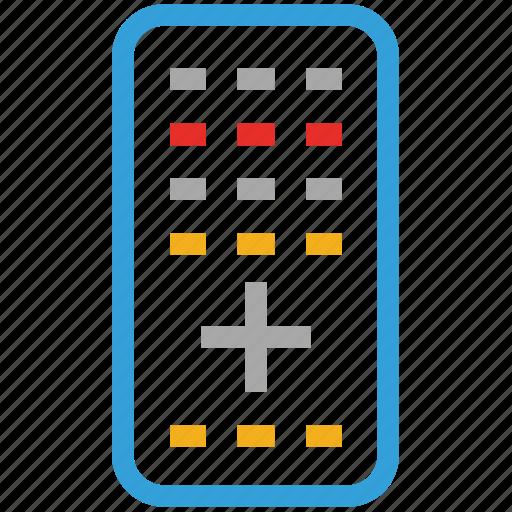 remote, remote control, tv remote, tv remote control icon