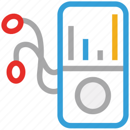 ipod, music, nano, player icon